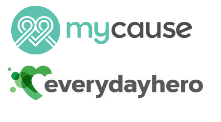 Mycause and Everydayhero online fundraising