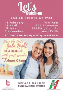 Ladies nights flyer